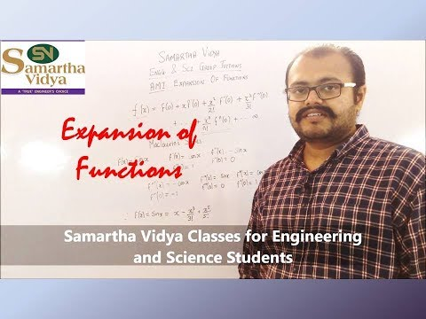 Expansion of Functions
