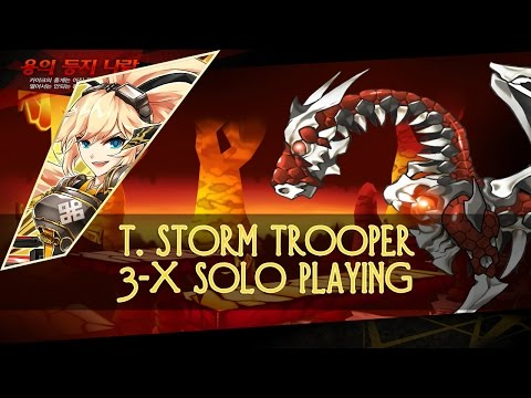 [Elsword KR] T. Storm Trooper 3-X solo playing