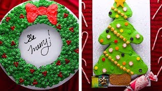 7 Winter Themed Cupcake Cakes for this Holiday Season! | Christmas Dessert Recipes by So Yummy