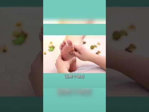 Oriental Foot Massage-Focus on the acupressure point.
