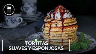 Cómo hacer unas TORTITAS de desayuno ESPONJOSAS y DELICIOSAS