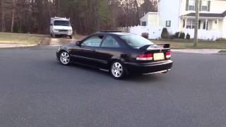 2000 Honda Civic Si Em1 With Apexi World Sport 2 Exhaust