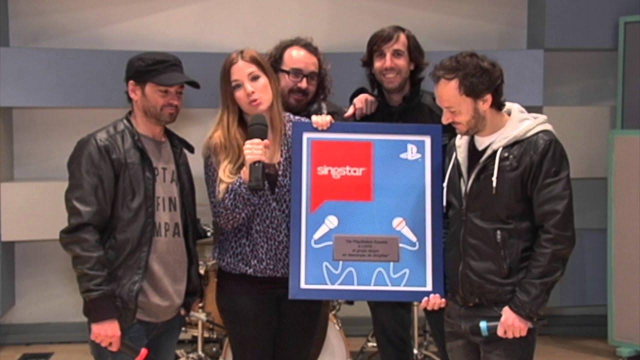 """El grupo  La Oreja de Van Gogh premiado como el más """"descargado"""" en SingStar"""