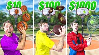 Level $10 to $1000 All Sport Trickshot Battle!
