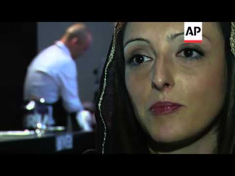 Coffee making in style at barista championship in Tehran