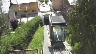 preview picture of video 'Ascenseur incliné de Puigcerdà (Catalogne)'