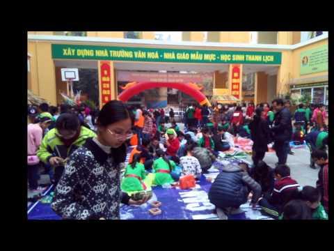 Rộn ràng Hội Xuân - Vũ khúc xanh đầu tiên tại trường THCS Nguyễn Tri Phương
