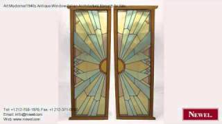 Art Moderne/1940s Antique Window Italian Architectural