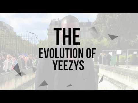 Evolution Of Kanye West's Yeezys