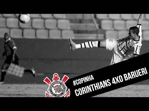 #Copinha | Corinthians 4x0 Barueri