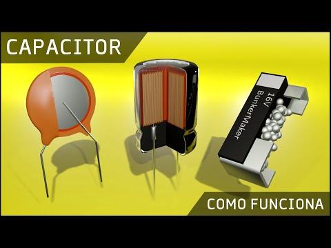 Como Funciona un Capacitor o Condensador ⚡ Que es un Capacitor (Varios tipos!)