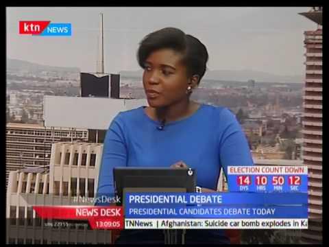 Presidential Debate: Studio interview with political analyst Joshua Kiptoo