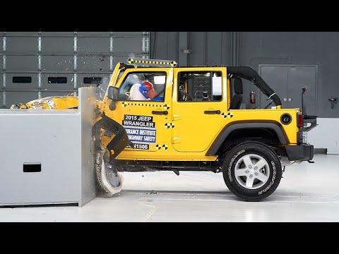 2015 Jeep Wrangler Gets Good Iihs Small Overlap Crash