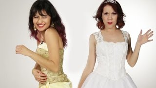 Women Try Their Old Quinceañera Dresses