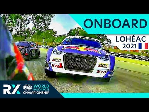 オンボード映像で見る世界ラリークロス フランス( エアロック)2021年動画