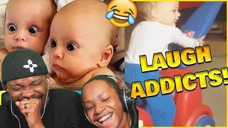 Try Not To Laugh Baby Edition! Where Are The Parents?? (Laugh Addicts Ep.23)