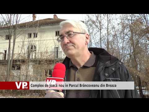 Complex de joacă nou în Parcul Brâncoveanu din Breaza