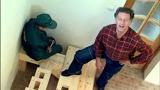 Как мы делали лестницу на ТВ передачи Фазенда