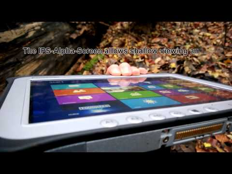 Panasonic Toughpad FZ-G1 - Outdoor-Action, dropped, frozen and baked...