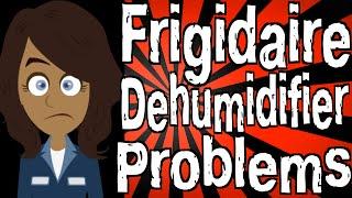 frigidaire dehumidifier fo error code - मुफ्त