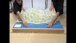 Solid Terrain Modeling highlighted on How It's Made