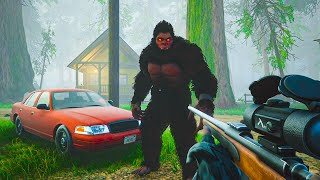 There's finally a BIGFOOT game..