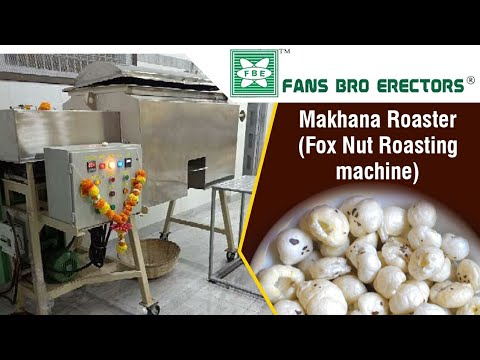 Fansbro Makhana Roaster Machine