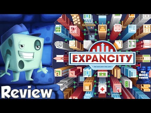 Expancity Review - with Tom Vasel