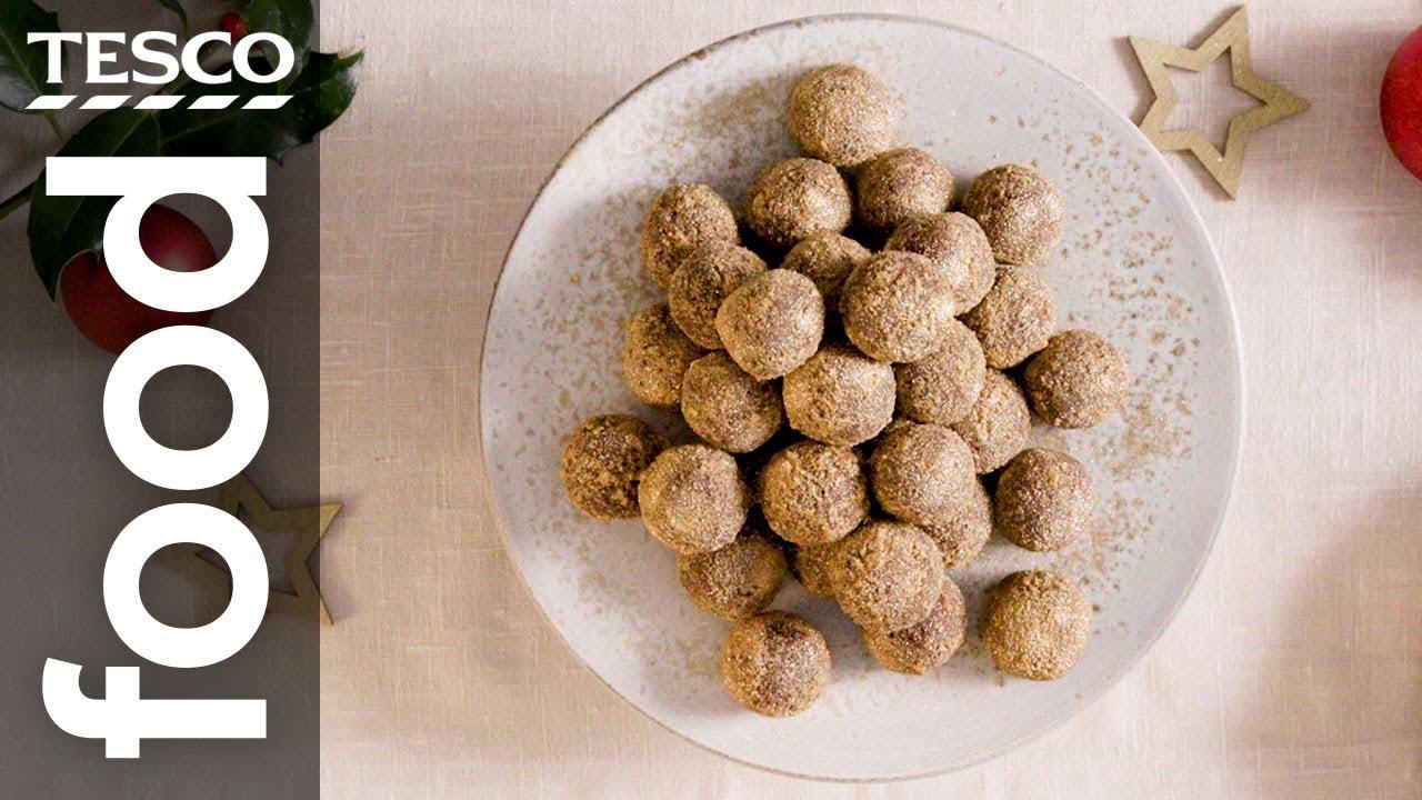 How to make gingernut truffles
