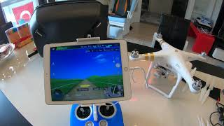 DJI Phantom 3 Pro Uçuş Ayarlar DJI GO Simulator 2