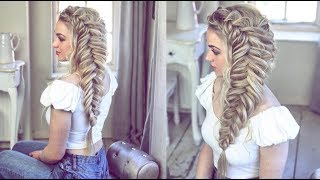 How to Create a BIG Fishtail (without it becoming loose!!)