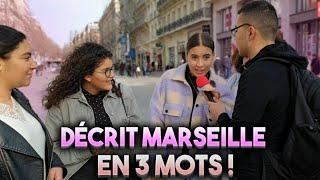 DÉCRIT MARSEILLE EN 3 MOTS !?🇨🇵(Feat @Gueshtuga) - Micro Trottoir