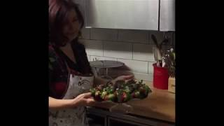 Euphoria Starts Valentine's with Manon making chocolate-covered  strawberries for our guests!