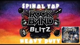 Spinal Tap - Heavy Duty - Rock Band Blitz Playthrough (5 Gold Stars)