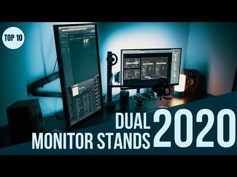 Top 10: Best Dual Monitor Stands in 2020 / Dual Monitor Mount & Monitor Arm with Ports