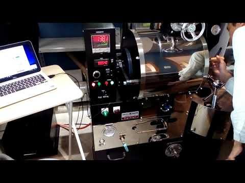 エチオピア産スペシャルティコーヒー豆WASHED 浅煎り焙煎動画シーン|熊本の自家焙煎コーヒー豆専門店WATARU