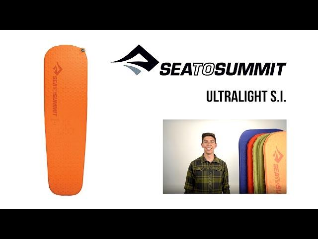 Видео Коврик Sea to Summit Self Inflating UltraLight Mat Regular
