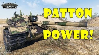 World of Tanks - PURE Gameplay [M48A5 PATTON | 1v5, 10K DMG by Mark_from_Hungary]