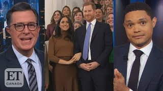 Late Night Reacts To Harry And Meghan's Exit