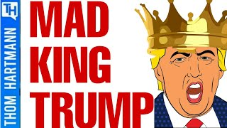 Trump Becomes Mad King In Modern Epic of Gilgamesh