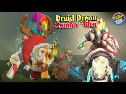 Auto chess Mobile - Druid Dragon Combo Tưởng Không Mạnh Ai Ngờ Mạnh Không Tưởng