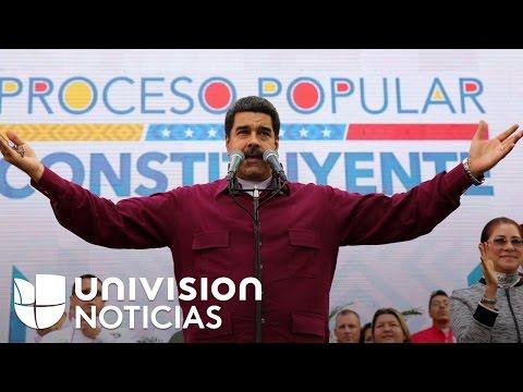 Maduro responde a sanciones impuestas por Washington