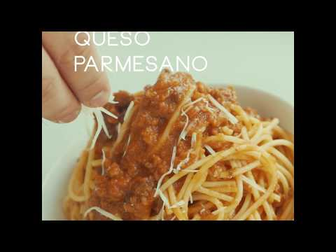 Espaguetti en Salsa a la Bolognesa
