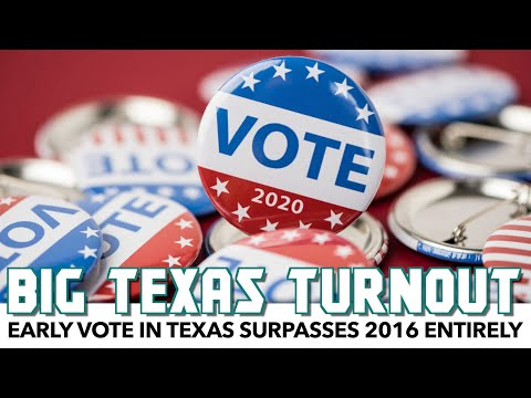 Texas Early Vote Exceeds Entire 2016 Turnout