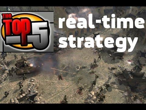 Топ 5 стратегий в реальном времени (RTS)