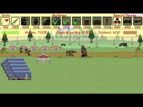 Video of Army vs MutantZombies