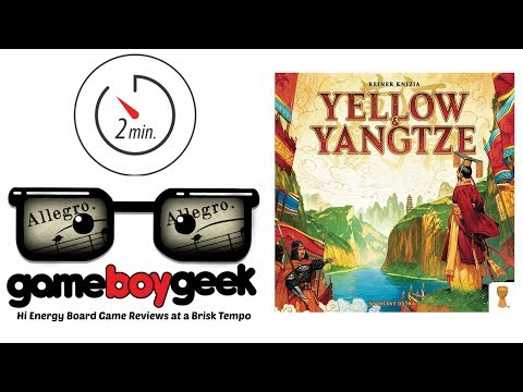 Yellow & Yangtze (Allegro 2-min) Review with the Game Boy Geek