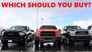 Who Makes The Best And Worst Truck For 2020???
