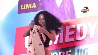 Alex Muhangi Comedy Store Dec 2018   Sheebah Karungi (Omwooyo)