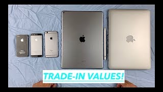 Apple's Trade-In Values For My iPhones, iPad Pro, and MacBook Pro!